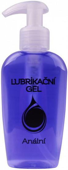 Análny lubrikačný gél 130 ml s pumpičkou.