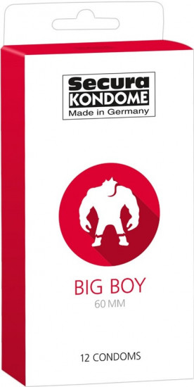 Kondómy XL Secura Big Boy