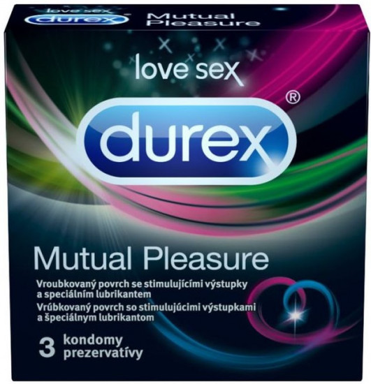 Durex Mutual Pleasure 3 ks
