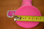 Strap-on Pink Silicone rozmery