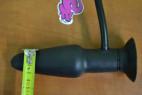 Análny kolík nafukovacie s vibrácií a prísavkou rozmery