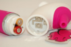 Vibrátor H2O Drop Pink | vodná tryska
