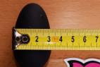 Análny kolík Black Diamond, meriame šírku malej veľkosti