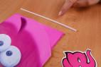 Žartovný balónik v tvare penisu - slamku na nafúknutie