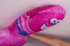 Žartovný balónik v tvare penisu - spoj