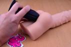 Análny kolík Gaper - s análnym gélom a so zadočkom