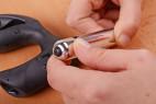 Análny kolík XPander s vibračnou patrónou, rozťahovacia