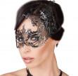 Kovová maska na oči s kamienkami