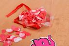 Mydlové konfety Little Hearts - otvorená škatuľka