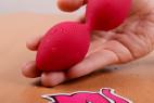 Vibračné guličky Love Balls - v ruke