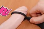 Análny kolík s krúžkom Ring & Plug - nasadzujeme na dildo