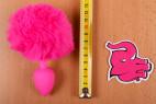 Análny kolík Pinky Bunny - dĺžka