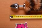 Análny kolík Racoon Tail - meter