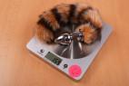 Análny kolík Racoon Tail - váha