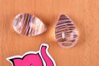 Vajíčka Pure Glass - detail dvoch vajíčok
