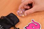 Vajíčka Pure Glass - vajíčko vytiahnuté z vrecka