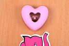 Vibračné vajíčko Pink Love, ovládač na stole