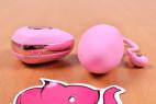 Vibračné vajíčko Pink Love, na stole