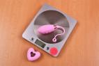 Vibračné vajíčko Pink Love, na váhe bez ovládača