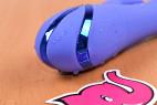 Rotačný vibrátor Dream Bunny, detailný záber pozlátenie