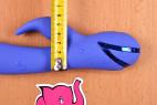 Rotačný vibrátor Dream Bunny, priemer spodnej časti aj s výbežkom