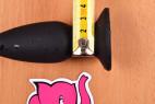 Vibračný análny kolík Smooth Fantasy, priemer na dpatkou