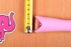 Silikónový vibrátor Pink Lover, priemer rukoväte