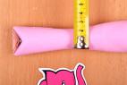 Silikónový vibrátor Pink Lover, priemer strednej časti