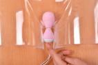 Vibračné vajíčko BOOM Rabbit & Balls,