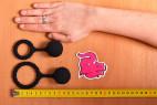 Erekčný krúžok Bubble Blower - nákupný veľkosti krúžkov