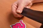 Bondážna páska Noir - odbaľovania pásky