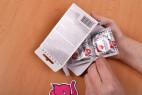 Pepino Safe Plus - vyťahovanie z krabičky