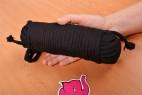 Bondážne lano Soft Touch - fotenie dlhšieho lana v ruke