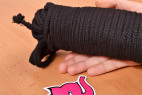 Bondážne lano Soft Touch - detail dlhšieho lana
