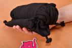 Bondážne lano Soft Touch - fotenie lán v ruke