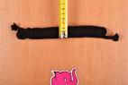 Bondážne lano Soft Touch - meriame šírku kratšieho lana