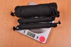 Bondážne lano Soft Touch - vážime laná, stolný váha ukazuje 273 g