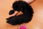 Sada Pussycat - análny kolík s chvostíkom