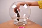 Vibračný análny kolík Smooth Fantasy - veľký, skúšame vibrácie