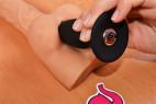 Vibračný análny kolík Smooth Fantasy - veľký, použitie