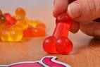 Ovocné cukríky Sweet Willies - detail cukríka