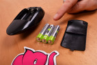 Vagina Big Bang Pussy - ovládač a 3 tužkové batérie