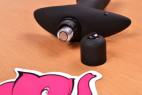 Vibračný análny kolík Prostate Jet - batéria je v kolíku