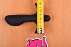 Vibračný análny kolík Prostate Jet - meriame dĺžku pätky