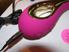 LELO Isla vibrátor, fialový, nabíjanie