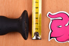 Vibračný análny kolík Smooth Fantasy, malá veľkosť