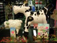 Nafukovacia kravička - veľká, bučia