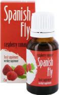 Španielské mušky 15ml - malina