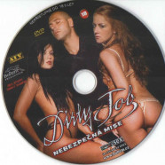 DVD Nebezpečná misia - disk