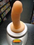 Pripínací penis plný mäkký 16cm